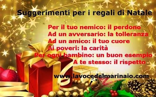 SUGGERIMENTI PER I REGALI DI NATALE www.lavocedelmarinaio.com - Copia