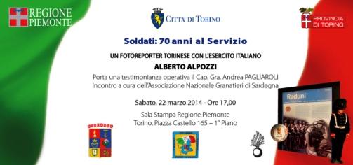 22.3.2014 a Torino, Soldati 70 anni al servizio - www.lavocedelmarinaio.com
