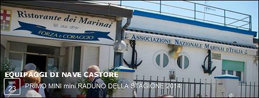 23.3.2014 Rimini  Mini raduno equipaggio Nave Castore - www.lavocedelmarinaio.com