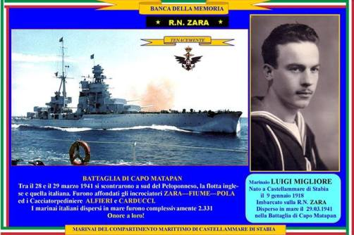29.3.1941 Luigi Migliore, Capo Matapan