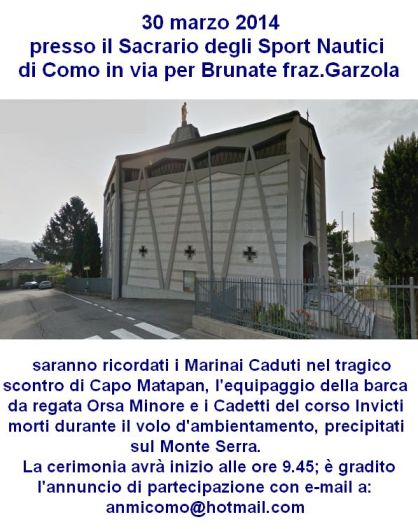 30.3.2014 a Como - www.lavocedelmarinaio.com