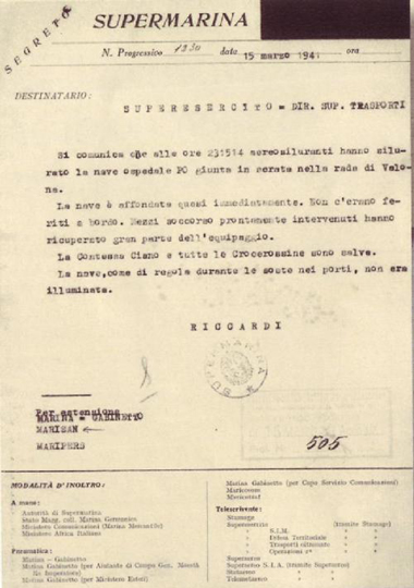 documento di supermarina
