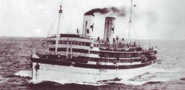 la nave ospedale Po