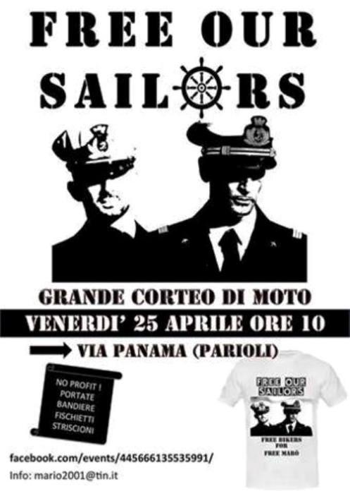 25.4.2014 a Roma www.lavocedelmarinaio.com