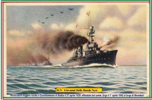 27.4.1930 affondamento . nave Giovanni dalle bande nere - www.lavocedelmarinaio.com