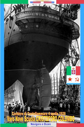 4 aprile 1928 varo nave Colombo - www.lavocedelmarinaio.com