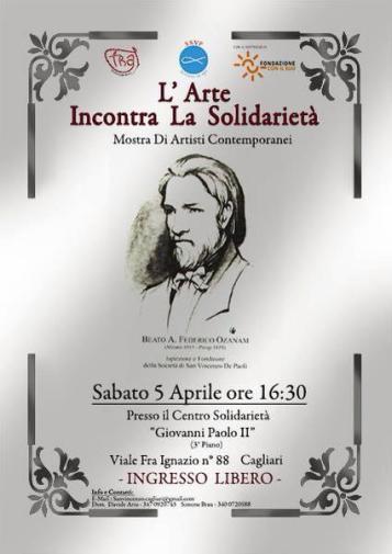 5.4.2014 a Cagliari L'arte incontra la solidarietà - www.lavocedelmarinaio.com