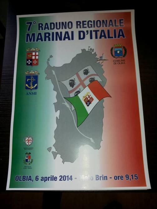 6.4.2014 7° raduno regionale ANMI a OLBIA - www.lavocedelmarinaio.com