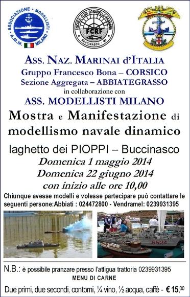 1.5.2014 a Buccinasco - www.lavocedelmarinaio.com