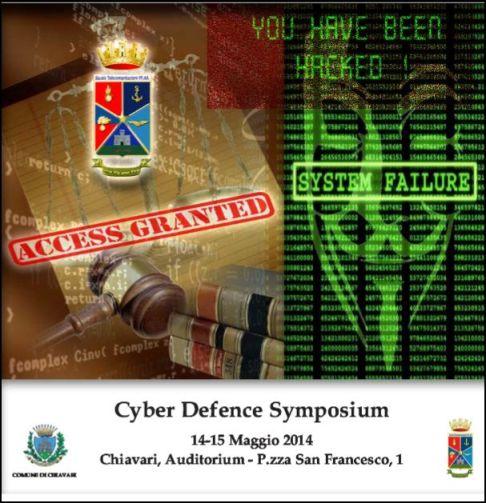 14-15 maggio 2014 Cyber Defence Symposium a Chiavari - www.lavocedelmarinaio.com