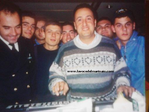 Ezio Pancrazio Vinciguerra e gli amici marinai di Nave Alpino (1999-2000) - www.lavocedelmarinaio.com