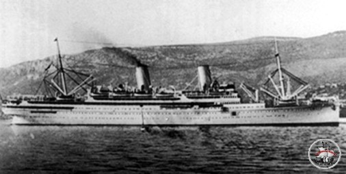 Regia nave Conte Rosso (f.p.g.c. Francesco Carriglio a www.lavocedelmarinaio.com)