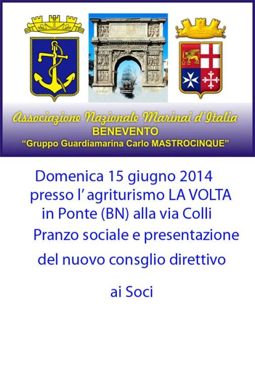 15.6.2014 a Benevento Festa della Marina - www.lavocedelmarinaio.com