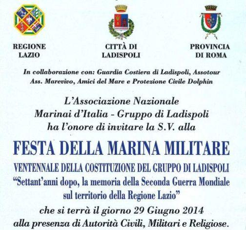 29 giugno 2014 a Ladispoli Festa della Marina Militare - weww.lavocedelmarinaio.com
