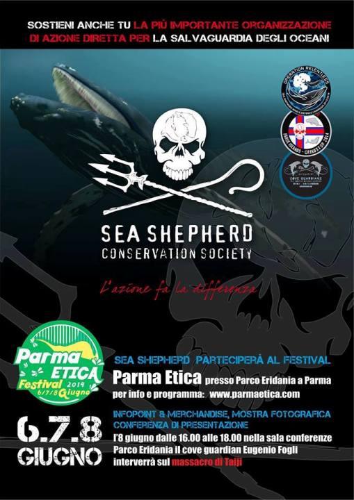 6-8- gugno a Parma Salviamo gli oceani www.lavocedelmarinaio.com