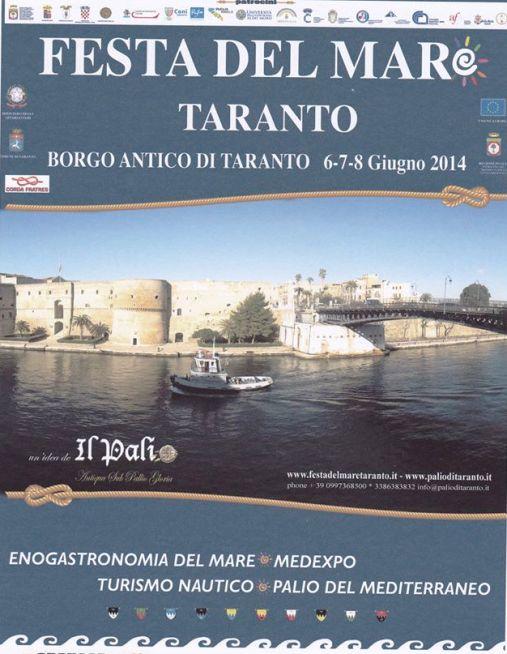 6-8.6.2014 a Taranto Festa del mare - www.lavocedelmarinaio.com