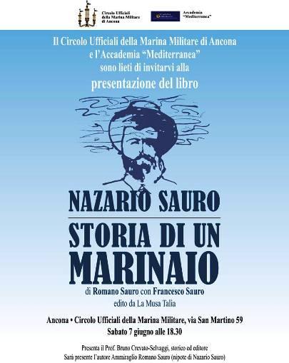 7.6.2014 ad Ancona Storia di un marinaio - www.lavocedelmarinai.com