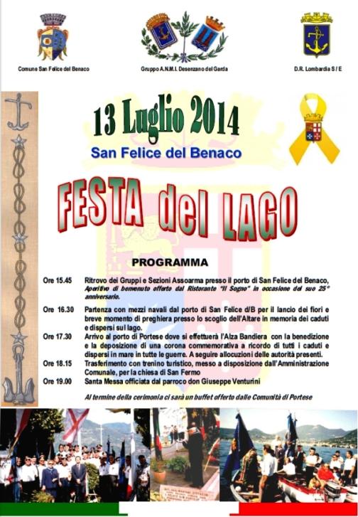 13.7.2014 a San Felice del Benaco - www.lavocedelmarinaio.com