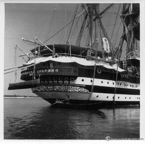 Nave Colombo a Venezia (1940) - Foto Archivio centrale dello Stato