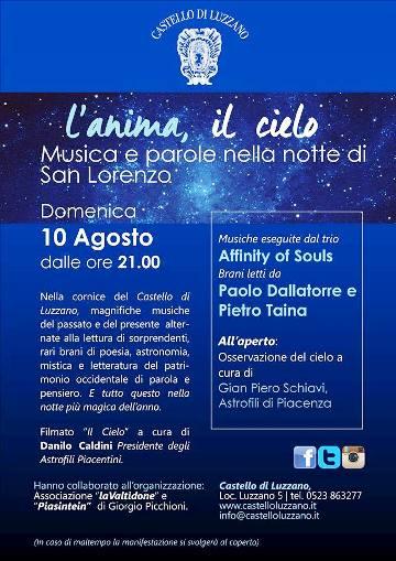 10.8.2014 a Castello di Luzzano - www.lavocedelmarinaio.com