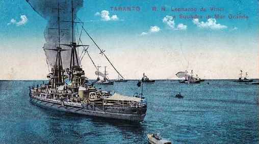 2.8.1916 regia nave Da Vinci - www.lavocedelmarinaio.com