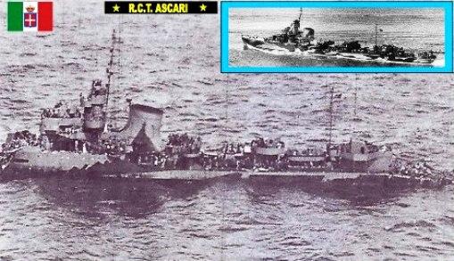 24.3.1943 regio cacciatorpediniere Ascari www.lavocedelmarinaio.com