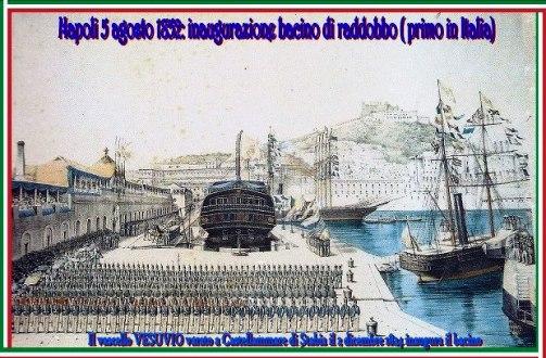 5 agosto1852 Castellammaril bacino di raddobbo  - www.lavocedelmarinaio.com