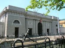 Ingresso principale dell'arsenale di La Spezia e del Museo Navale