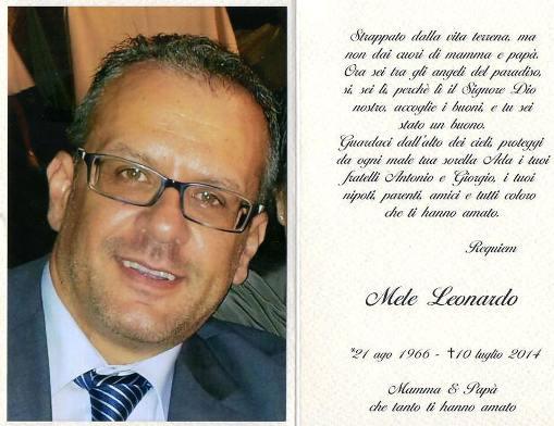 Leonardo Mele 10.7.2014