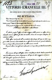 Nascita ufficio storico della Marina (decreto attuativo) foto USMM_2