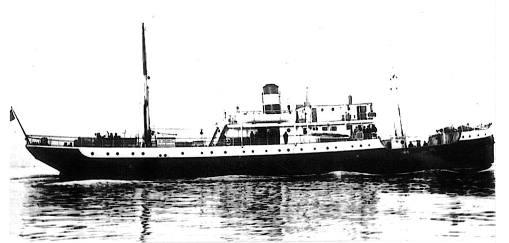 Piroscafo Egadi 861 Tonn affondato il 31 agosto 1941 a nord ovest di Lampedusa da aereosilurante intorno la mezzanotte - www.lavocedelmarinaio.com