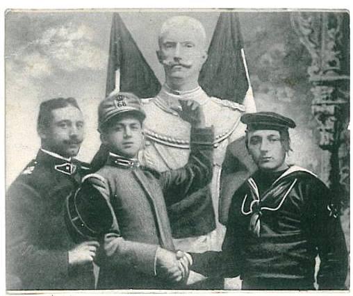 1^ guerra mondiale - cartoline di propaganda - copia - www.lavocedelmarinaio.com