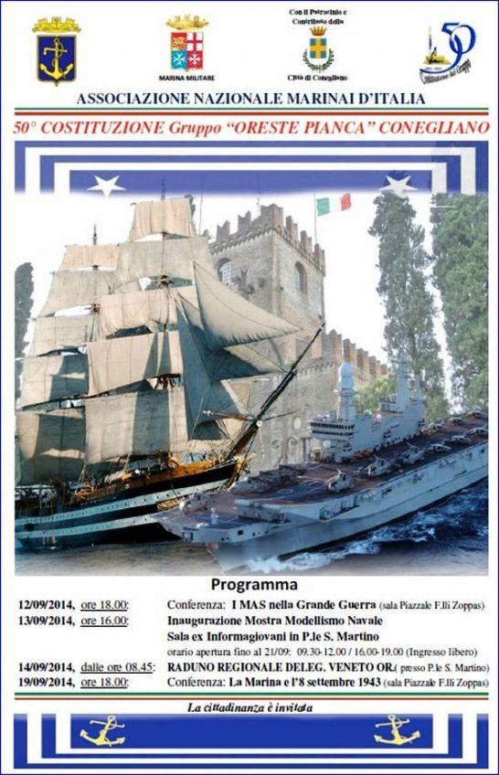 12-19.9.2014 a Conegliano - www.lavocedelmarinaio.com