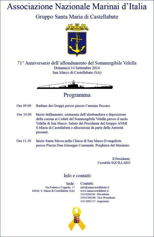14.9.2014 a Castellabate www.lavocedelmarinaio.com