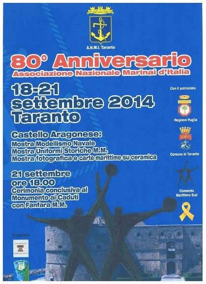 18-21.9.2014 a Taranto - www.lavocedelmarinaio.com