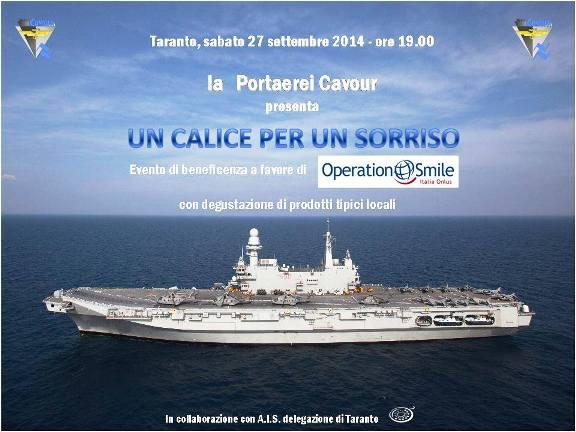 27.9.2014 a  Taranto - Un calice per un sorriso - www.lavocedelmarinaio.com