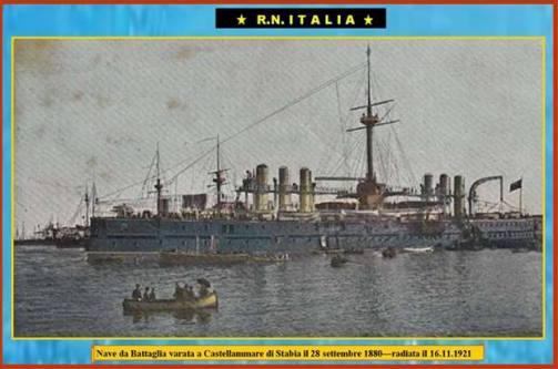 28.9.1880 Regia Nave Italia - www.lavocedelmarinaio.com -