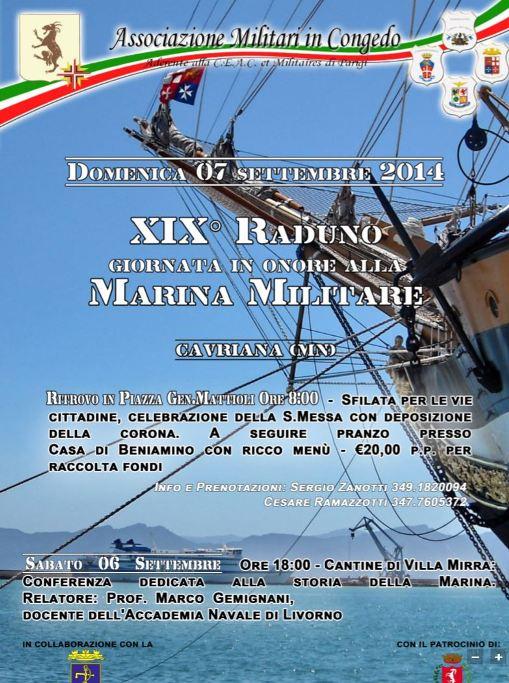 7.9.2014 a Cavriana (MN) XIX raduno Giornata in onore della Marina Militare - www.lavocedelmarinaio.com