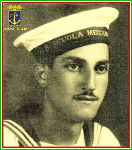 9.1.1943 2°C° Meccanico Francesco D'Ischia (f.p.g.c. Carlo Di Iitto per  www.lavocedelmarinaio.com