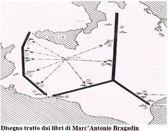 Disegno tratto dai libri di Marc'Antonio Bragadin