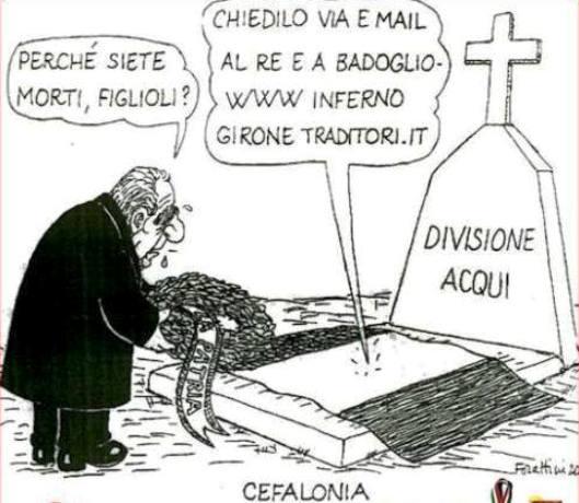 Forattini per le vittime di Cefalonia
