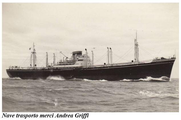 Nave trasporto merci Andrea Griffi