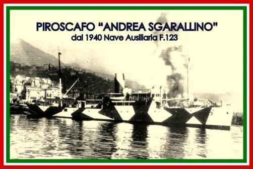 Piroscafo Andrea Sgarallino - www.lavocedelmarinaio.com