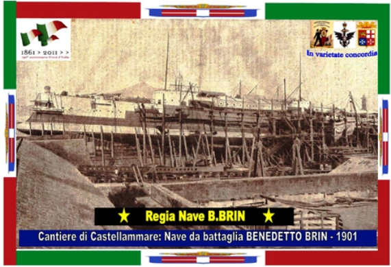 Regia nave Benedetto BRIN - www.lavocedelmarinaio