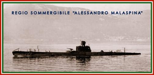Regio sommergibile  Malaspina - www,lavocedelmarinaio.com