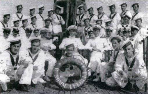 equipaggio vellella del sommergibile Velella - www.lavocedelmarinai.com