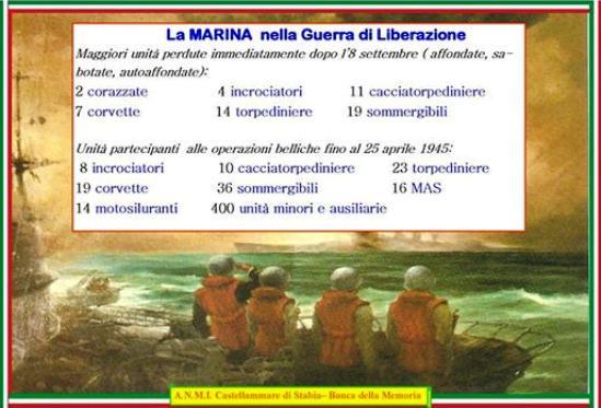 la marina militare dopo 8 settembre 1943 - www.lavocedelmarinaio.com
