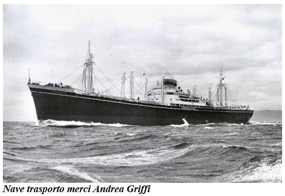 nave andrea griffi in navigazione - www.lavocedelmarinaio.com