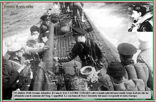 10 OTTOBRE 1940  Salvatore Todaro - www.lavocedelmarinaio.com
