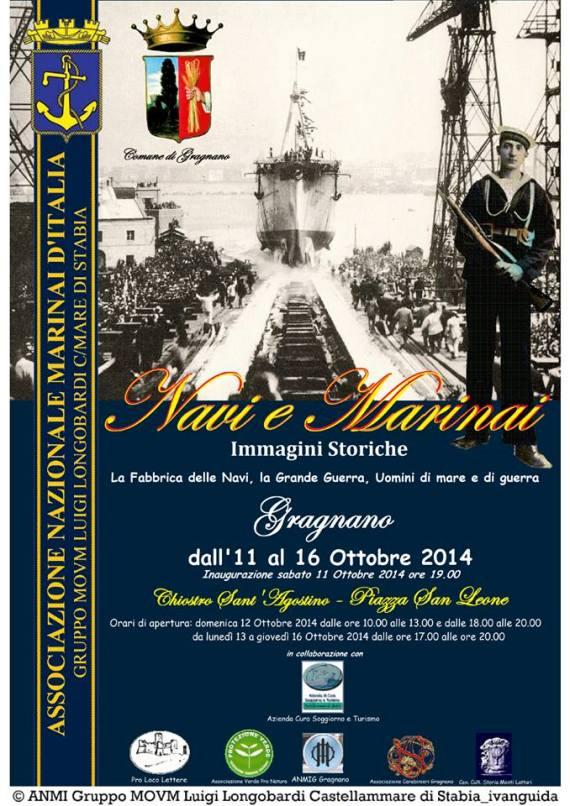 11-16.10.2014 a Gragnano Navi e Marinai - www.lavocedelmarinaio.com